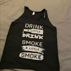 Unisex American apparel tank. Country song